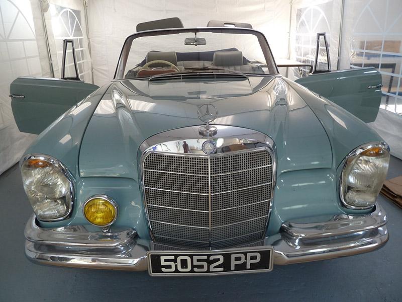 Classic Car Restoration - Mercedes 280SL - Leathertech